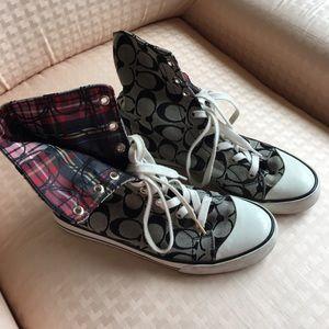 Coach Hightop Tennis Shoes